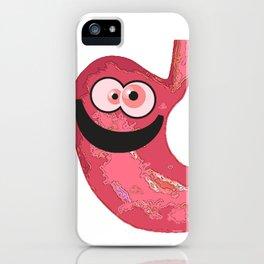 Happy Tummy iPhone Case
