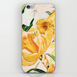 Wordsworth  and daffodils. iPhone Skin