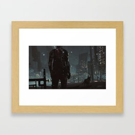 After fall Framed Art Print