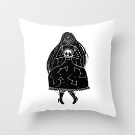 The Clairvoyant Throw Pillow