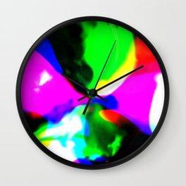 Melting Color Wall Clock