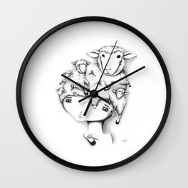 Merino Mutation Wall Clock