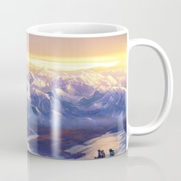 Stunning View Of Mountain Range Ultra HD Coffee Mug