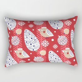 Merry birds Rectangular Pillow
