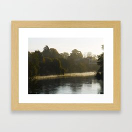 The carm before the storm. Framed Art Print