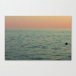 Row Canvas Print