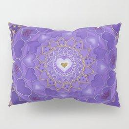 Divine Love Mandala Pillow Sham
