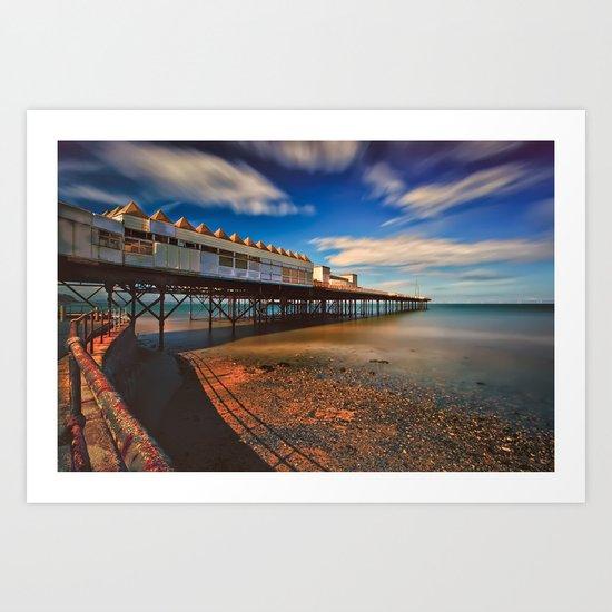 Colwyn Pier Art Print