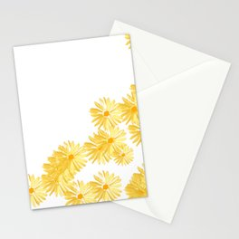Flower minimal margarita daisy Stationery Cards