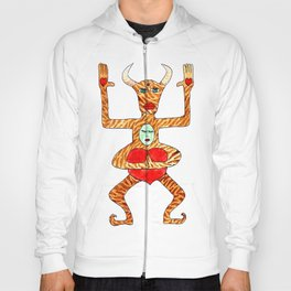 the bull is not seated Hoody
