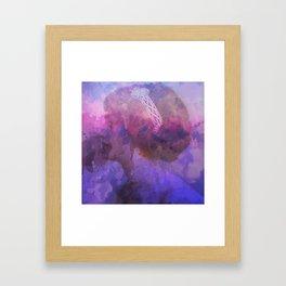 Purple haze memories Framed Art Print