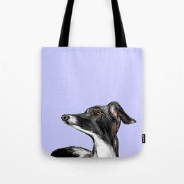 Italian Greyhound Illustration Tote Bag