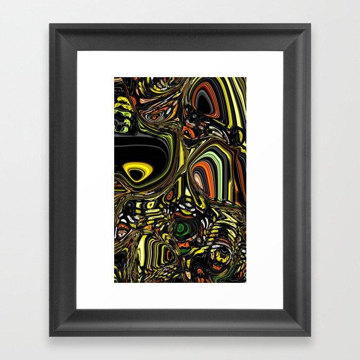 Liquefied Framed Art Print