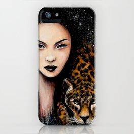Fierce Beauty iPhone Case