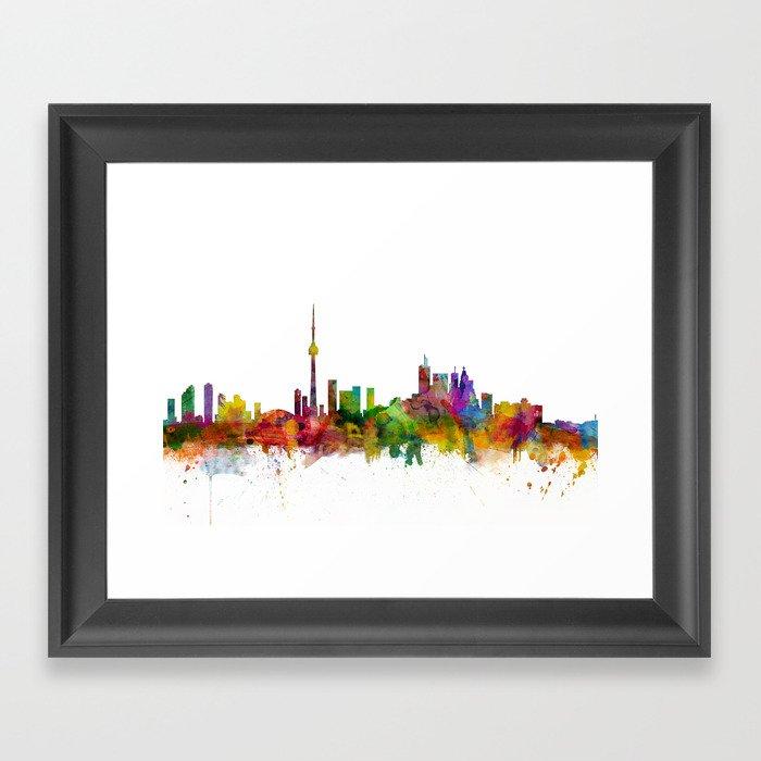 Toronto Canada Skyline Gerahmter Kunstdruck