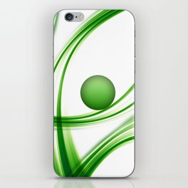 Green 113 iPhone Skin