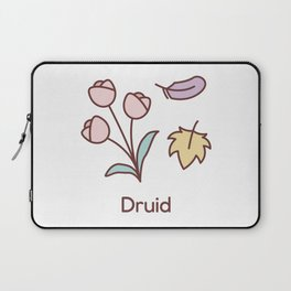 Cute Dungeons and Dragons Druid class Laptop Sleeve