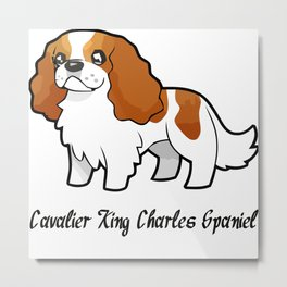 Cavalier Collection - Blenheim Metal Print