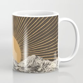 Mountainscape 6 - Night Sun Coffee Mug