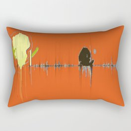 Abstracts Tango Bold Pattern Modern Art - Corbin Henry Rectangular Pillow