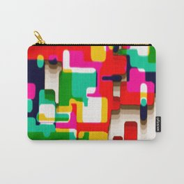 Arcade Crayon Collage Carry-All Pouch