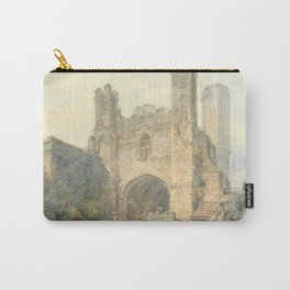 """J.M.W. Turner """"Saint Augustine's Gate, Canterbury"""" Carry-All Pouch"""