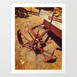 Once Upon A Time - Cartwheel Art Print