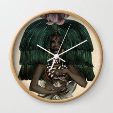 P I S C E S - Colour Version Wall Clock