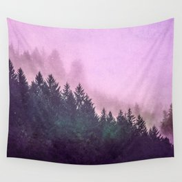 Misty Mountain Pass Wall Tapestry