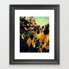 On the Edge of Summer Framed Art Print