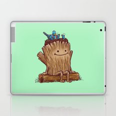Good Day Log's Bird Nest Laptop & iPad Skin