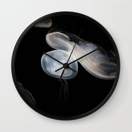 Jellyfish 4 Wall Clock