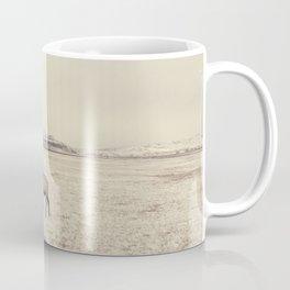 Sparring Elk in Wyoming - Wildlife Photography Coffee Mug