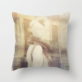 I am Alive Throw Pillow