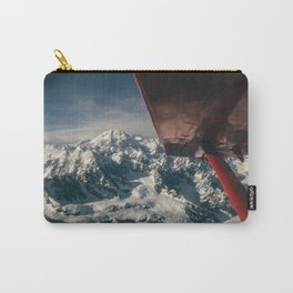 Flying Around Denali Carry-All Pouch