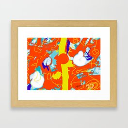 Holiday Excursion        by Kay Lipton Framed Art Print