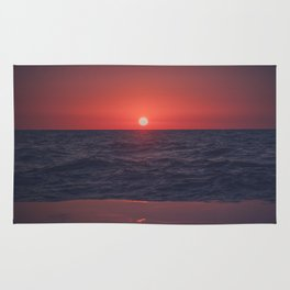 Restless Sunset Rug