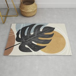 Abstract Tropical Art I Rug