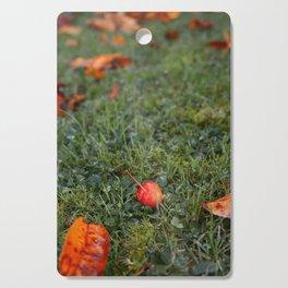 Autumn crab apple Cutting Board