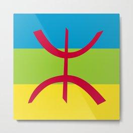 Flag of Berber Metal Print