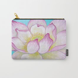 Sacred Lotus Flower Carry-All Pouch