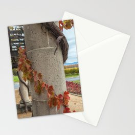 Column with Grapevine II Stationery Cards