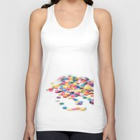 sprinkles Tank Tops featuring Sprinkles by Dena Brender Photography