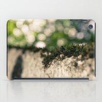 moss iPad Cases featuring moss by andrea-ioana