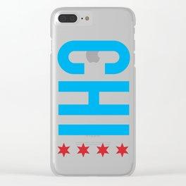C H I Clear iPhone Case