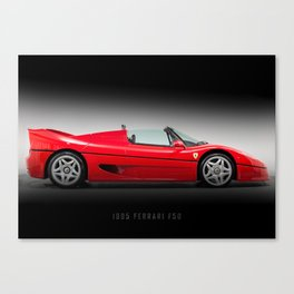 F50 Canvas Print