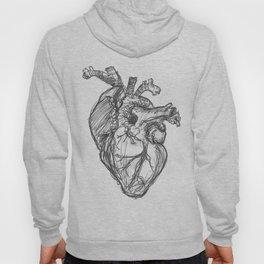 Anatomical Heart Ink Sketch Hoody