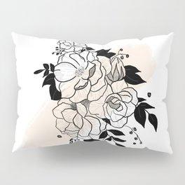 Flowers- Cream Pillow Sham