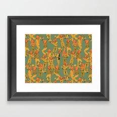 Party Monster 2 Framed Art Print