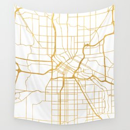 MINNEAPOLIS MINNESOTA CITY STREET MAP ART Wall Tapestry